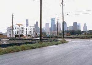 New Town Homes at the east end of Washington on the old Southern Railroad freight yards