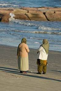 Two Women on the Sand