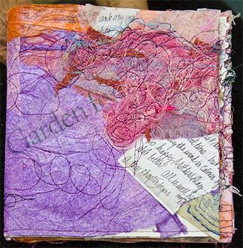 """Artist book, """"Making my Way"""""""