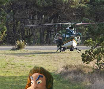 helicopter and Oola
