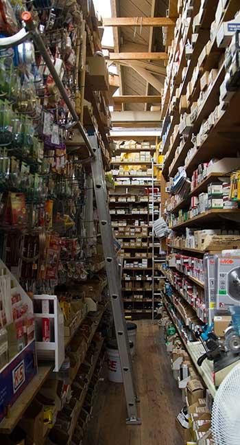 warehouse aisle