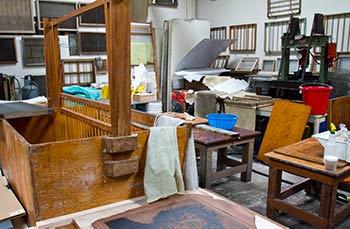 Papermaking studio