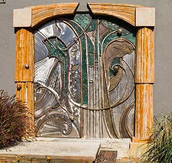 Doorway to Sgraffito Studios
