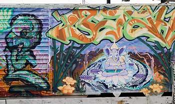 graffiti mural right