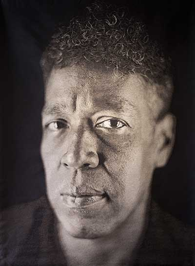 """""""Andres"""" by Chuck Close"""