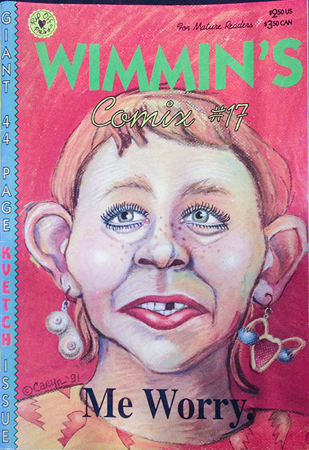 Wimmen's Comix, # 17