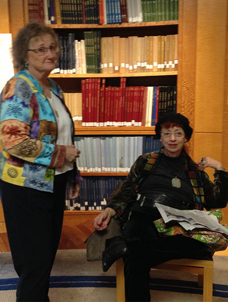 Lee Marrs and Sharon Rudah