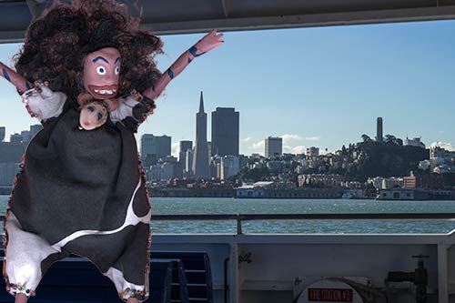 Oola and the SF skyline