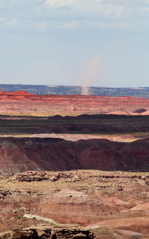 Twister in the Painted Desert