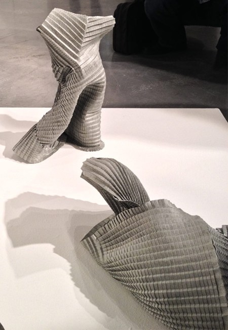 Folded paper constructions by Gordon Konjevod