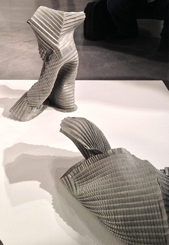 Folded paper constructions by Gordon Konjevod