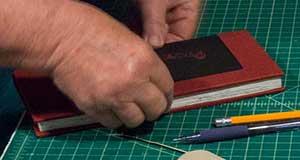 drum leaf binding