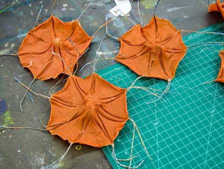 handmade paper forms