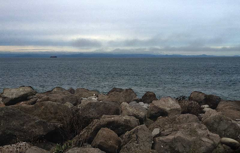 Canada across the Strait of Juan de Fuca
