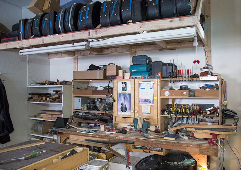Wildcard guitars workshop, north side
