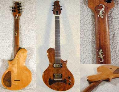 solid body guitar