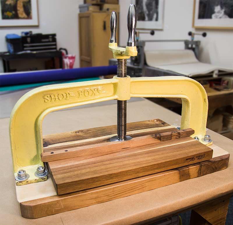 Press clamp