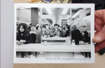 one page from Michael's book of photographs