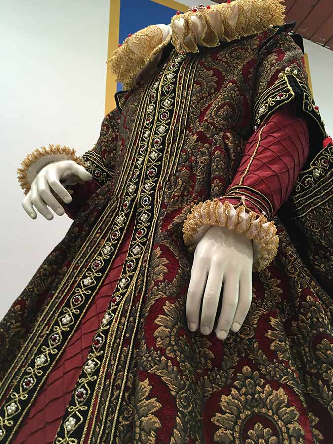 Spanish Renaissance gown